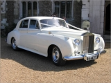 Anne - Classic White Rolls Royce