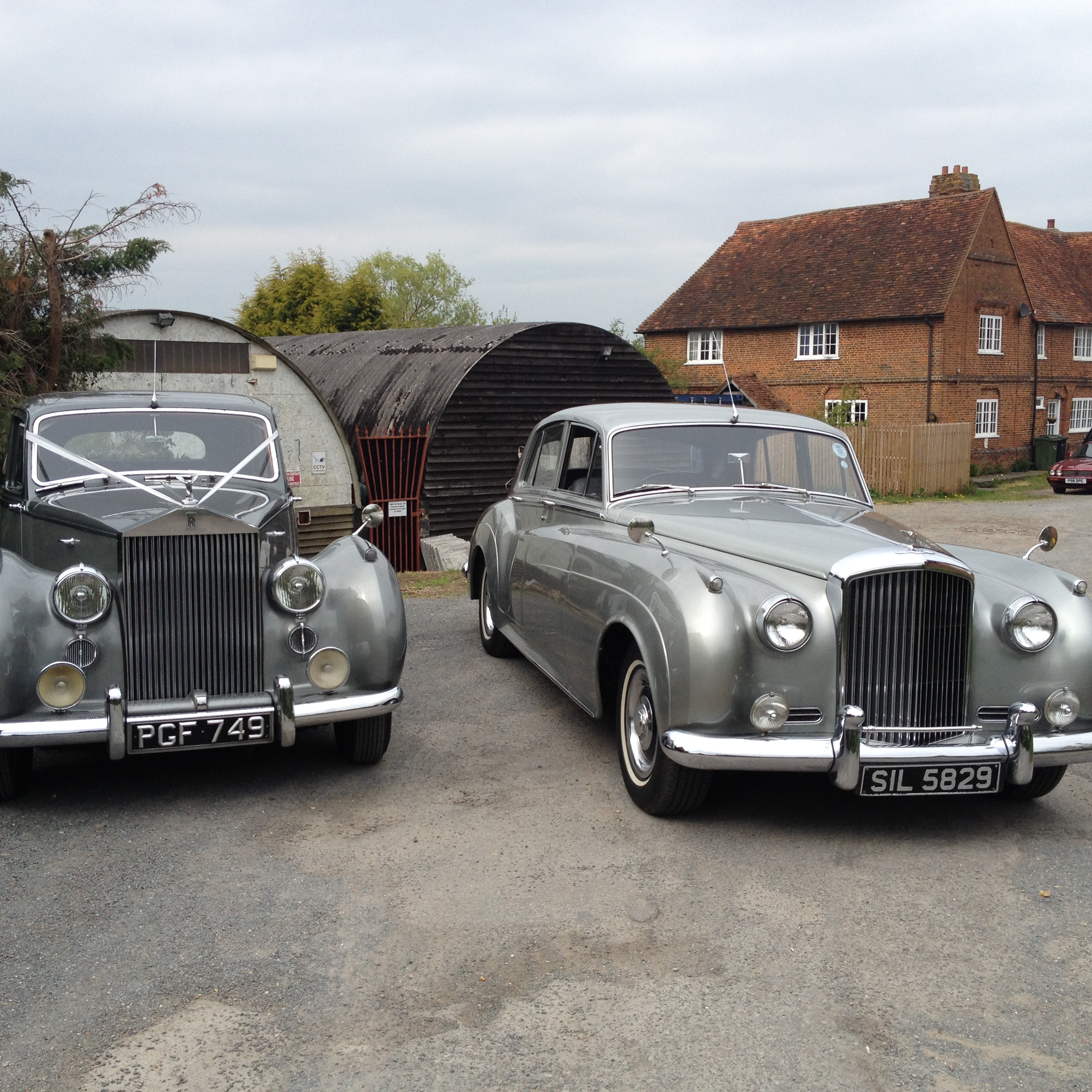 1961 Silver Bentley S2 Classic Limo Gallery Vintage: View Our Wedding Cars For Hire In Guildford, Surrey