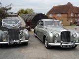 Mary – 1958 Classic Silver Bentley